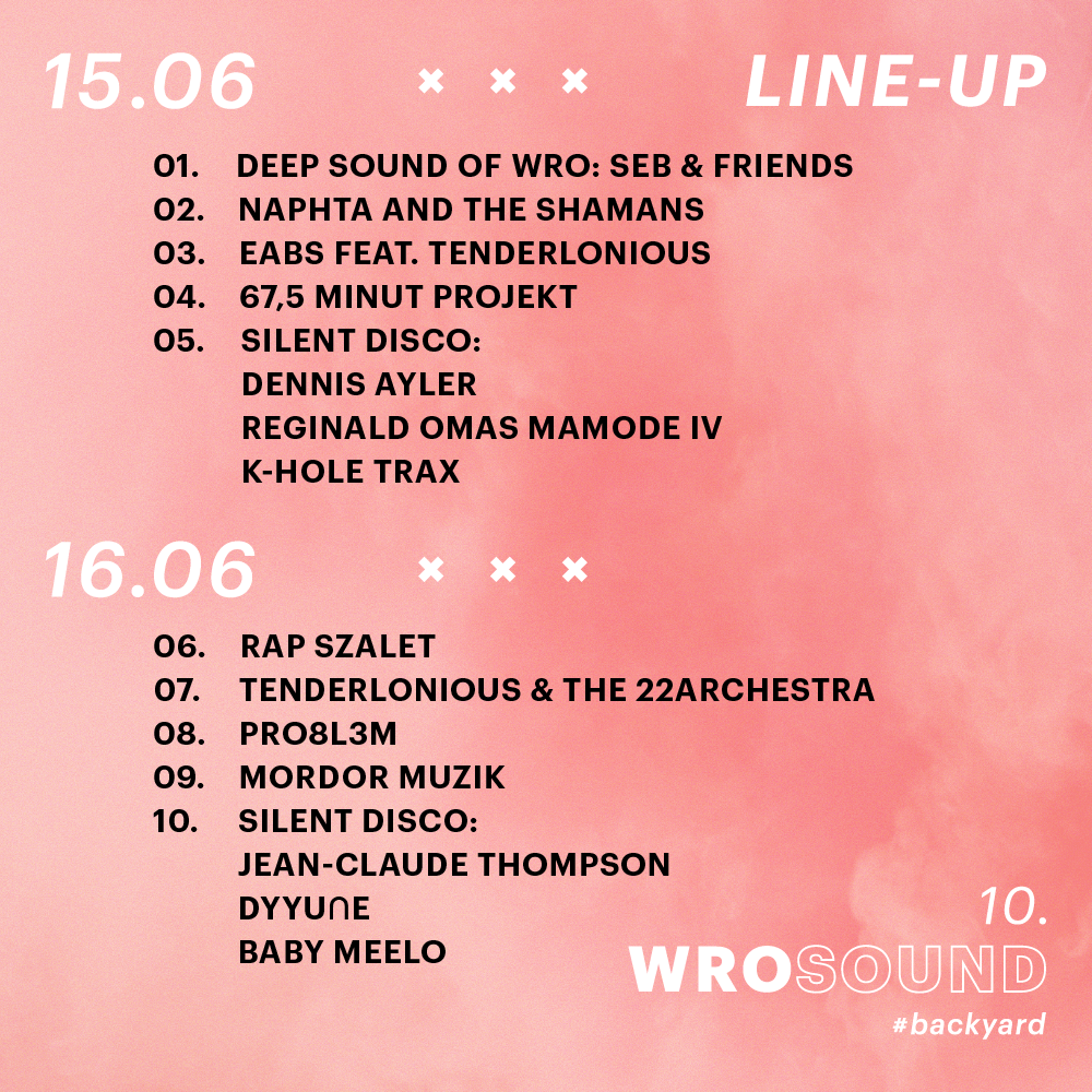Discover the line-up of the 10th WROsound Festival