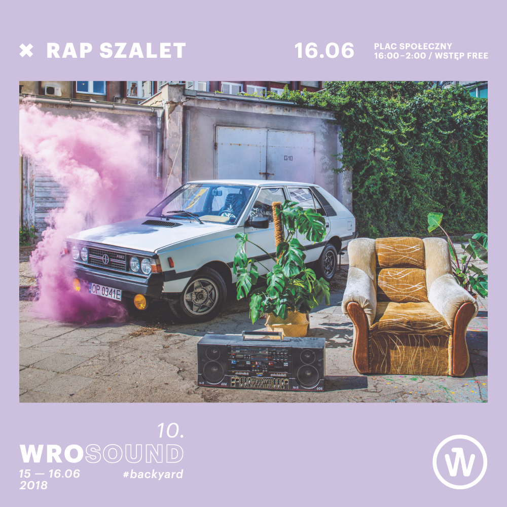 RAP SZALET: LINE-UP